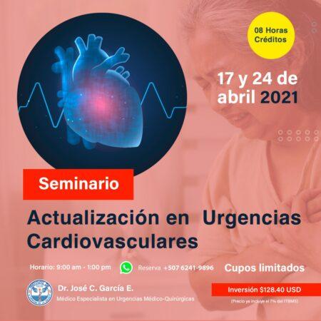 SEMINARIO VIRTUAL URGENCIAS CARDIOVASCULARES