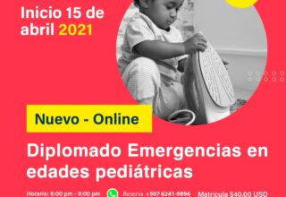 DIPLOMADO VIRTUAL ACTUALIZACIÓN EN EMERGENCIAS PEDIATRICAS