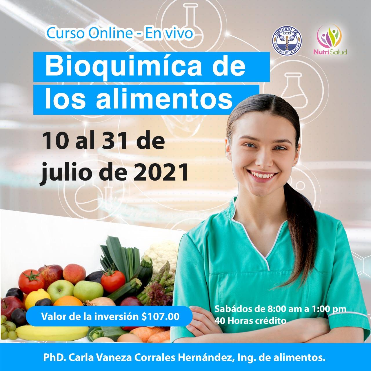 curso bioquimica de los alimentos