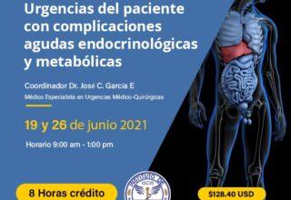 SEMINARIO VIRTUAL DE URGENCIAS ENDOCRINOLÓGICAS Y METABÓLICAS EN EL SERVICIO DE URGENCIAS