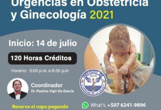DIPLOMADO VIRTUAL DE URGENCIAS EN OBSTETRICIA Y GINECOLOGÍA