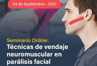 TALLER DE TÉCNICAS DE VENDAJE NEUROMUSCULAR EN PARÁLISIS FACIAL